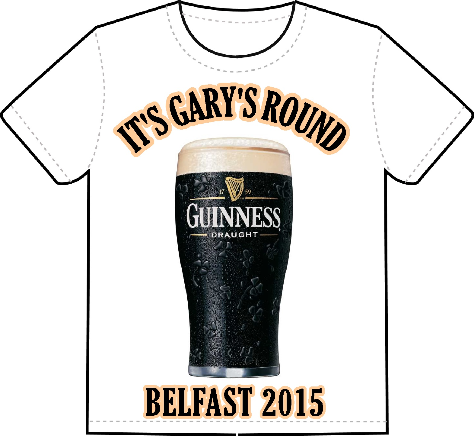 Design your own t shirt belfast -  Design Your Own Stag T Shirt S